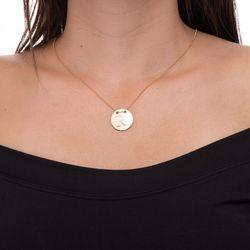Gargantilha-em-Ouro-18k-Medalha-Letra-R-Rodinada-com-40cm-ga05081--joiasgold