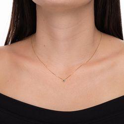 Gargantilha-de-Ouro-18k-Safira-Redonda-Borda-10-Diamantes-ga03797--joiasgold