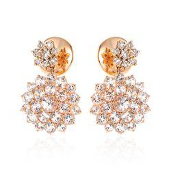 Brinco-em-Ouro-Rose-18k-Flor-com-Topazio-Branco-e-Diamantes-br22078-Joias-Gold