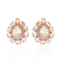 Brinco-em-Ouro-Rose-18k-Gota-com-Cristal-e-Diamantes-br21693-Joias-Gold