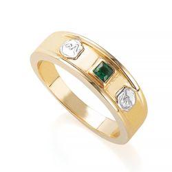 Anel-de-Ouro-18k-Formatura-de-Medicina-com-Zirconia-an35902-Joias-Gold