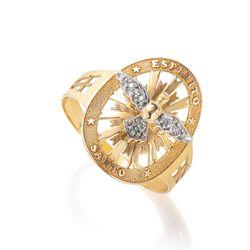 Anel-em-Ouro-18k-Divino-Trabalhado-com-Diamantes-an34453-Joias-Gold