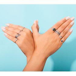 Anel-de-Ouro-Branco-18k-Chuveiro-Quadrado-com-Diamantes-an04077-Joias-Gold