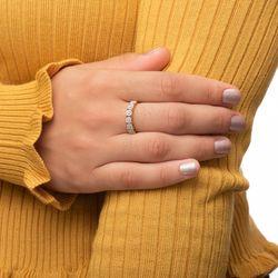 Anel-de-Ouro-18k-Meia-Alianca-Flores-com-Diamantes-an36437-Joias-gold