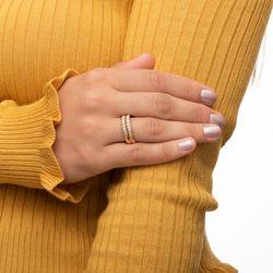 Anel-em-Ouro-18k-Par-de-Aparador-com-Faixas-Diamantadas-an36625-Joias-gold