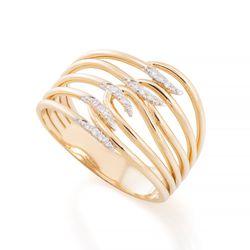 Anel-de-Ouro-18k-Fios-Vazados-com-Diamantes-an35798-Joias-gold