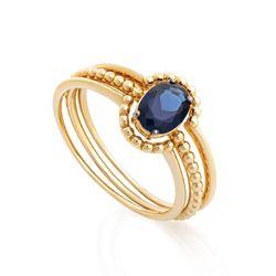 Anel-de-Ouro-18k-3-Aros-Zirconia-Oval-Azul-an33297-BF-JOIASGOLD
