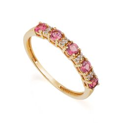 Anel-de-Ouro-18k-Meia-Alianca-Turmalina-Rosa-e-Diamantes-an36752--joiasgold