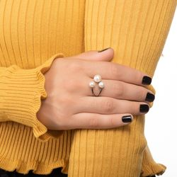 Anel-em-Ouro-Negro-18k-Perolas-com-Aro-Aberto-an35687-joiasgold
