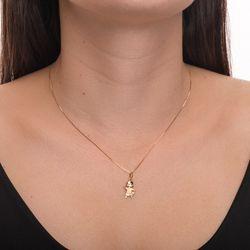 Pingente-de-Ouro-18k-Menina-com-Camisa-Fosca-e-Zirconia-Branca-pi20372--joiasgold