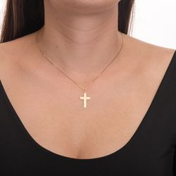 Pingente-de-Ouro-18k-Cruz-Frisos-Diamantada-pi20426-joiasgold