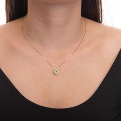 Pingente-de-Ouro-18k-Gota-Zirconia-Verde-com-Borda-Branca-pi20425--joiasgold