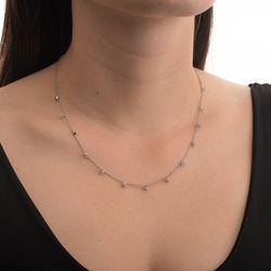 Gargantilha-de-Ouro-Branco-18k-Diamantes-Intercalados-Portuguesa-45cm-GA05363-JOIASGOLD