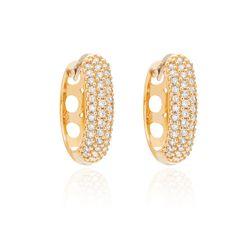 Brinco-de-Ouro-18k-Argola-13mm-Filetes-de-Zirconias-br24532--joiasgold