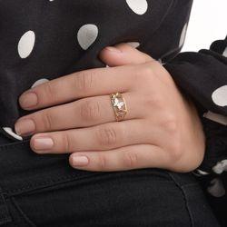 Anel-de-Ouro-18k-Borboletas-Tricolores-Diamantadas-an37231-JOIASGOLD