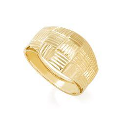 Anel-de-Ouro-18k-Quadriculado-Frisos-Trabalhados-an37226-Joias-Gold