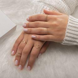 Anel-de-Ouro-18k-Aro-Mini-Bolinhas-Rodinado-com-Diamante-an36780--joiasgold