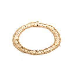 Pulseira-de-Ouro-18k-Groumet-Centro-Liso-e-Fosco-18cm-pu05488-joiasgold