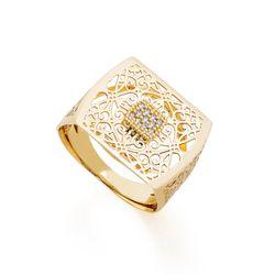 Anel-de-Ouro-18k-Retangular-Trabalhado-com-Zirconia-an37236-joiasgold