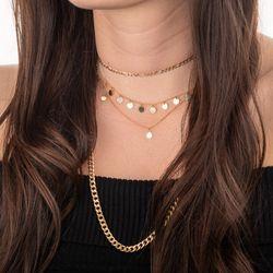 Gargantilha-de-Ouro-18k-Choker-Circulos-com-Diamantes-36cm-ga05254-joiasgold