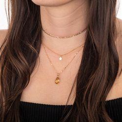Pingente-de-Ouro-18k-Pedra-Citrino-pi20608-joiasgold