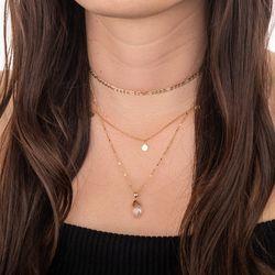 Pingente-de-Ouro-18k-Pedra-Quartzo-Rosa-pi20617-joiasgold