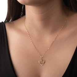 Pingente-de-Ouro-18k-Coracao-Love-com-Flor-Rose-pi20565-JOIASGOLD