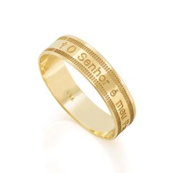 Anel-de-Ouro-18k-O-Senhor-e-Meu-Pastor-an37109-joiasgold