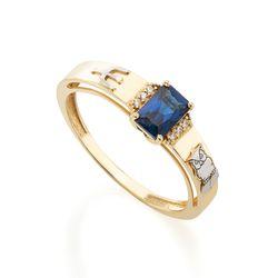 Anel-de-Ouro-18k-Formatura-Pedagogia-Zirconia-Azul-e-Branca-an37100-joiasgold