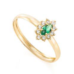 Anel-de-Ouro-18k-Formatura-Zirconia-Verde-Navete-Borda-Branca-an37135-joiasgold