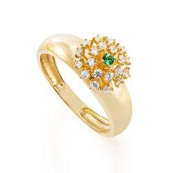Anel-de-Ouro-18k-Chuveiro-com-Zirconia-Branca-e-Verde-an37096-joiasgold