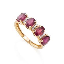 Anel-de-Ouro-18k-Quatro-Rubis-com-Diamantes-an32826-joiasgold