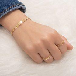 Pulseira-de-Ouro-18k-Placa-Groumet-19cm-pu05482-joiasgold