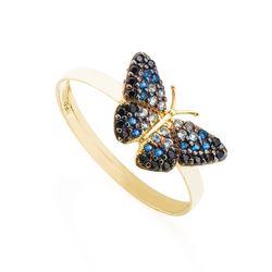 Anel-de-Ouro-18k-Borboleta-com-Zirconias-Coloridas-an37223-JOIASGOLD