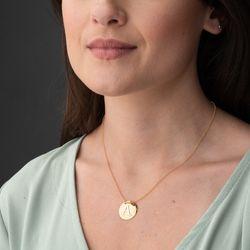 Gargantilha-de-Ouro-18k-Medalha-Lisa-Letra-A-Portuguesa-40cm-ga05595-joiasgold