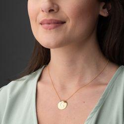 Gargantilha-de-Ouro-18k-Medalha-Lisa-Letra-G-Portguesa-40cm-ga05596-joiasgold