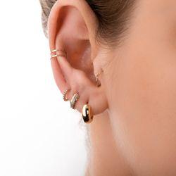 Piercing-de-Orelha-de-Ouro-Rose-18k-Duplo-Liso-ac07084-Joias-gold-modelo-