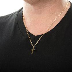 Pingente-de-Ouro-18k-Cruz-Vazada-pi16086-Joias-gold-modelo
