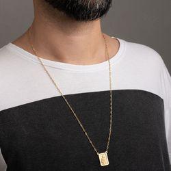 Gargantilha-de-Ouro-18k-Escapulario-Dois-Lados-Cartier-65cm-ga05514-Joias-gold