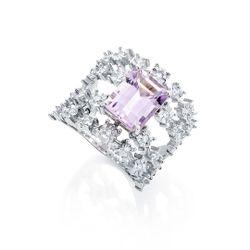 Anel-de-Ouro-Branco-18k-Ametista-e-26-Diamantes-an36442-Joias-gold