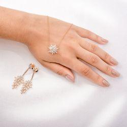 Gargantilha-de-Ouro-Rose-18k-Flor-Topazio-Branco-e-Diamantes-ga03263-Joias-gold1