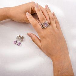 Brinco-de-Ouro-Branco-18k-Ametista-Retangular-e-22-Diamantes-br24015-Joisa-gold1