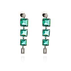 Brinco-de-Ouro-Negro-18k-Topazio-Verde-Carre-56-Diamantes-br23125-Joias-gold