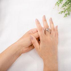 Anel-de-Ouro-Branco-18k-Meia-Bola-com-Diamantes-an36157-Joias-gold