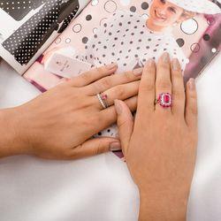 Anel-de-Ouro-Branco-18k-Rubi-com-Diamantes-an34133-Joias-gold-modelo
