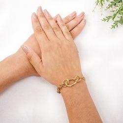 Pulseira-de-Ouro-18k-Elos-Ovais-Groumet-20cm-pu04727-Joias-gold