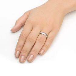 Alianca-de-Aco-cor-Prata-Feminina-com-Zirconia-alf081-Joias-gold-modelo