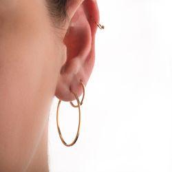 Brinco-de-Ouro-18k-Argola-Oval-Fio-Quadrado-br22545-Joias-gold-modelo1
