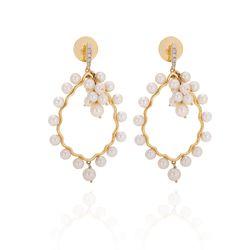 Brinco-de-Ouro-18k-Gota-Vazada-com-Perola-e-Diamantes-br20346-joiasgold