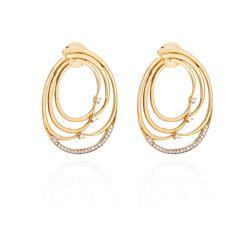 Brinco-de-Ouro-18k-Argola-Fios-com-Diamantes-br19484-joiasgold
